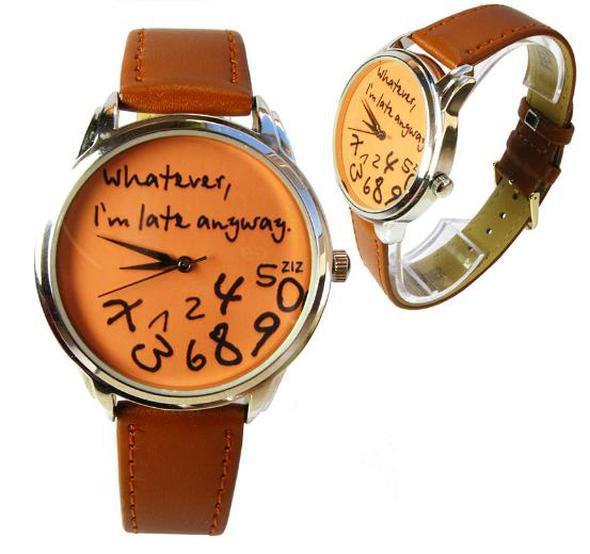 Крутые наручные часы в форме