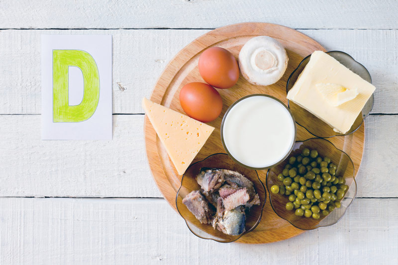 Как восполнить витамин d