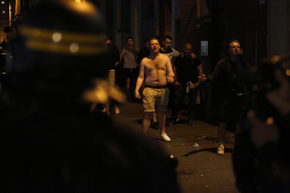 Lille'de taraftar gece de rahat durmadılar!