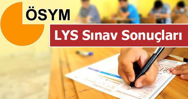 SON DAKİKA: 2016 LYS sınav sonuçları açıklandı! (TIKLA-ÖĞREN)