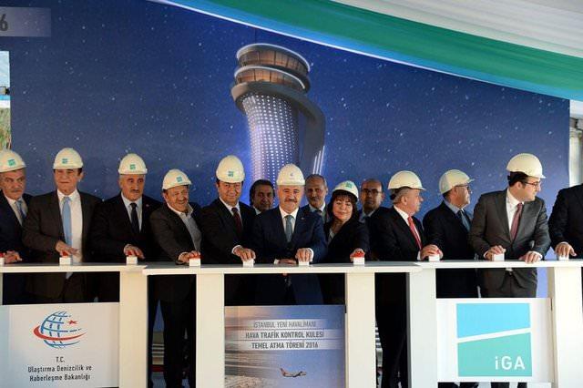 3. havalimanının ödüllü kulesinin temeli atıldı!