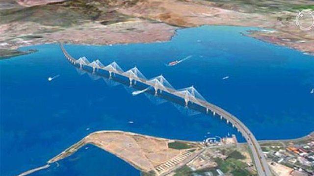 Çanakkale Köprüsü'nün güzergahı belli oldu