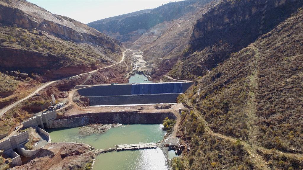 Silvan Barajı teröre inat yükseliyor!