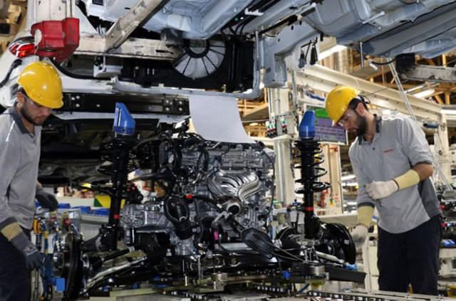Toyota ilk hibrit aracı Türkiye'de üretti