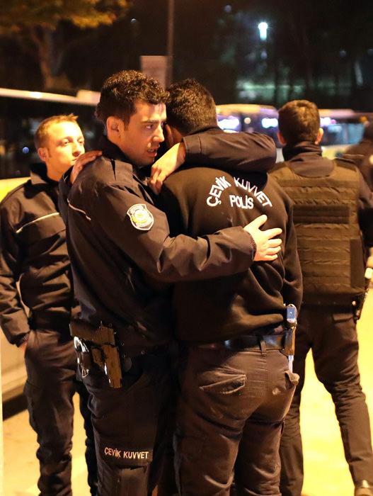 Beşiktaş'taki hain saldırının gerçekleştiği yerden görüntüler!