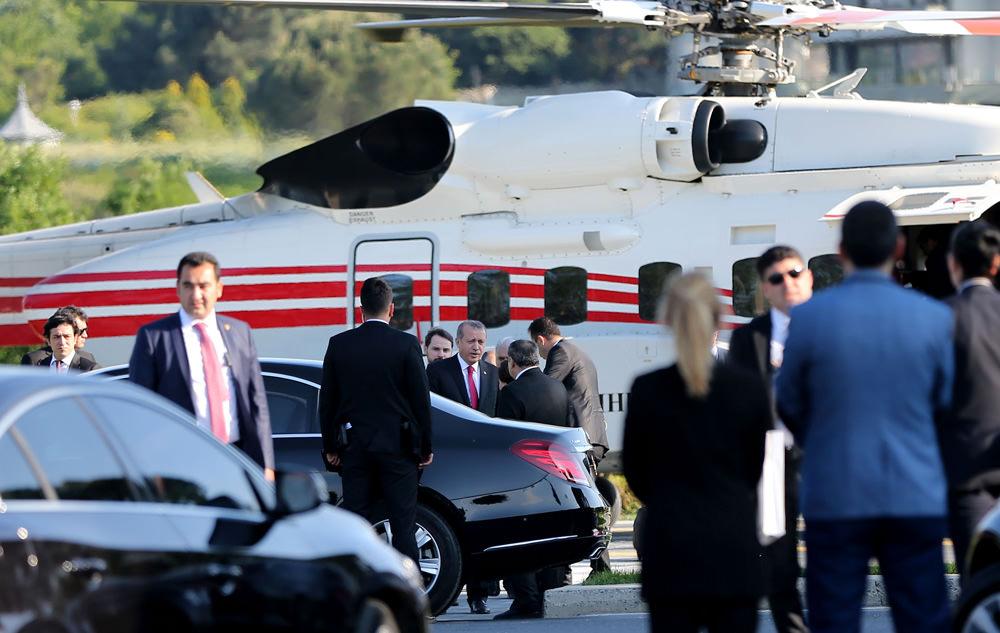 Cumhurbaşkanı Erdoğan dev projeleri teftiş etti