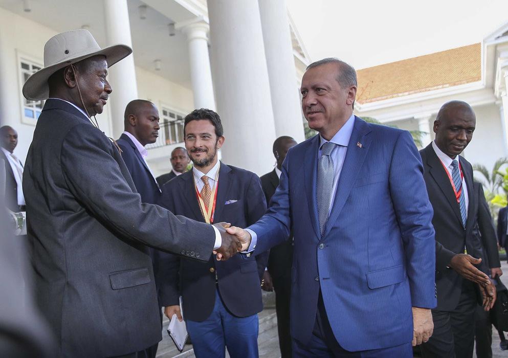 Cumhurbaşkanı Erdoğan'dan Uganda ziyareti