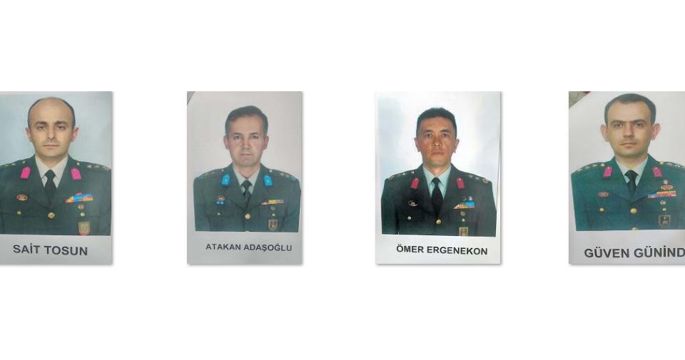 Firari komutanların isim ve fotoğrafları açıkladı! İşte 6 kritik isim