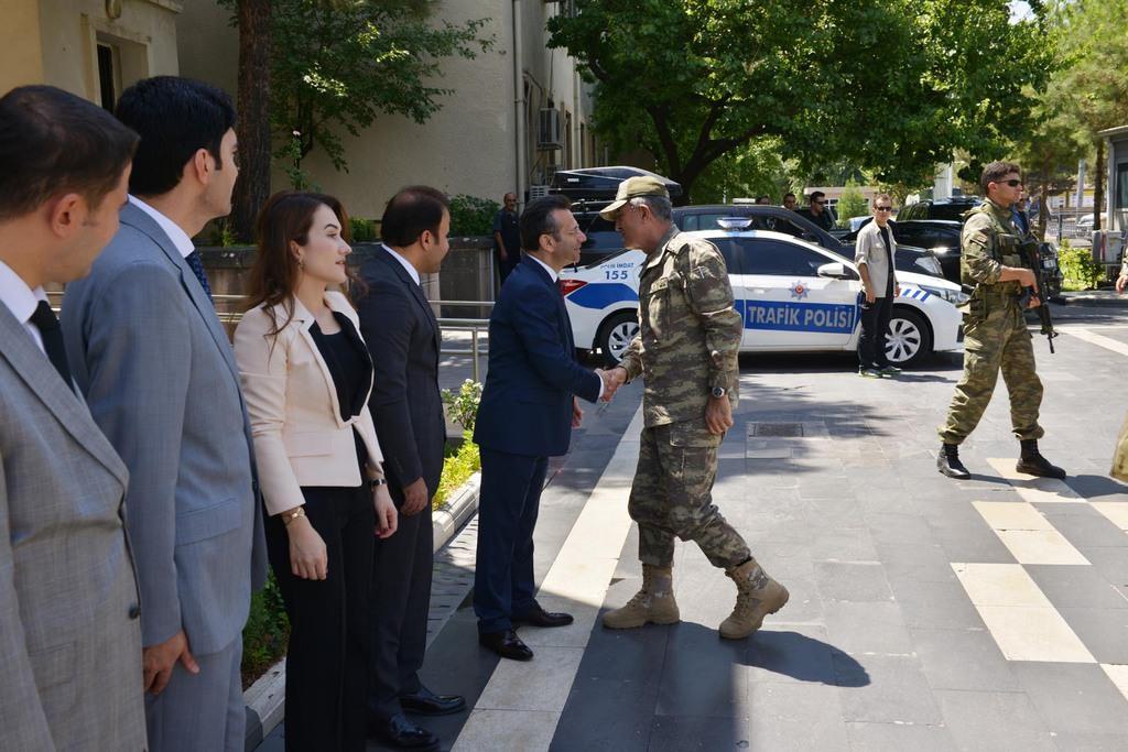 Genelkurmay Başkanı ve Kuvvet Komutanları Diyarbakır'da