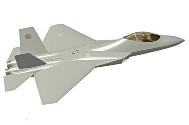 İşte milli uçak TF-X