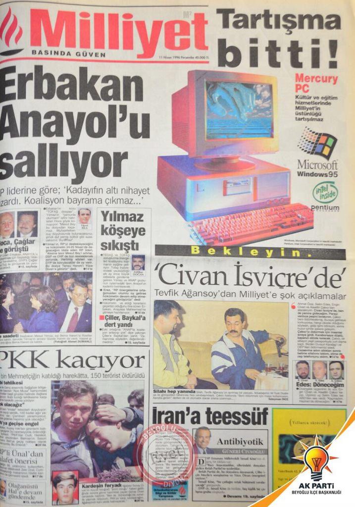 Manşetlerle koalisyon bataklığı!