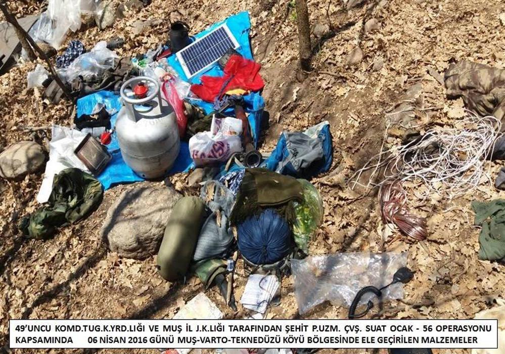 Muş'ta PKK operasyonu!