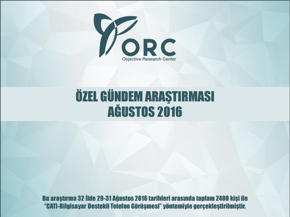ORC'den gündeme özel anket