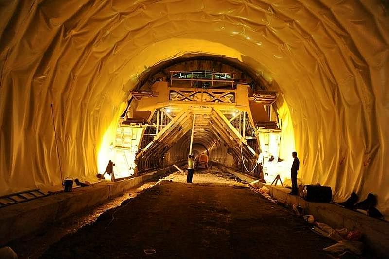 OVİT Tüneli Kasım'da ışığı görecek