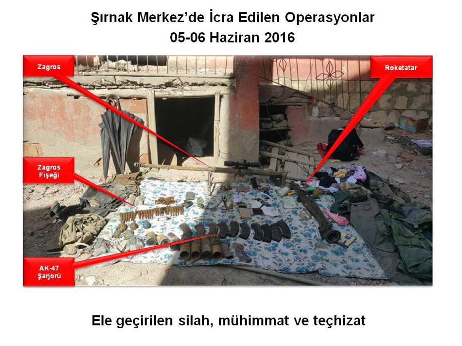 PKK'lılar kovanların üzerine bu notları yazmış!