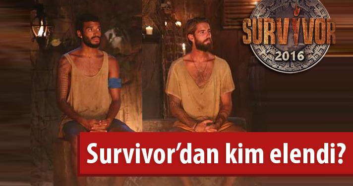 Survivor 2016'da kim elendi? İşte dün akşam adaya veda eden isim..