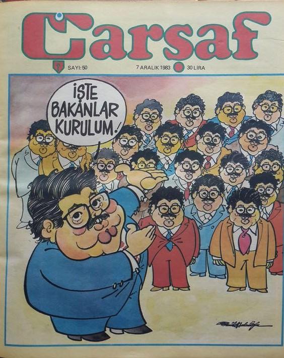 Turgut Özal'a da aynısını yapmışlar!