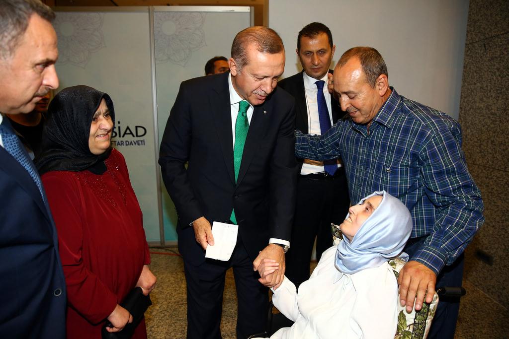 Cumhurbaşkanı Recep Tayyip Erdoğan, TÜMSİAD'IN iftarına katıldı.