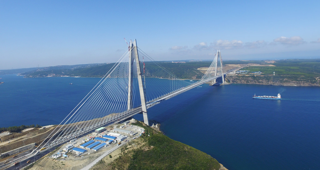 Yavuz Sultan Selim Köprüsü ile ilgili görsel sonucu