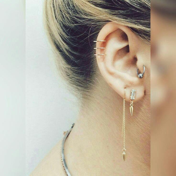 Kulak piercingleri ile fark yaratanlar