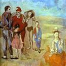 Мальчик с собакой.  (1905 г, Картон, пастель, гуашь, Санкт-Петербург...