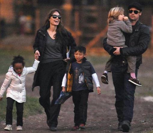 Как живут дети Джоли и Питта: Алкоголь, драки, бессонные ночи