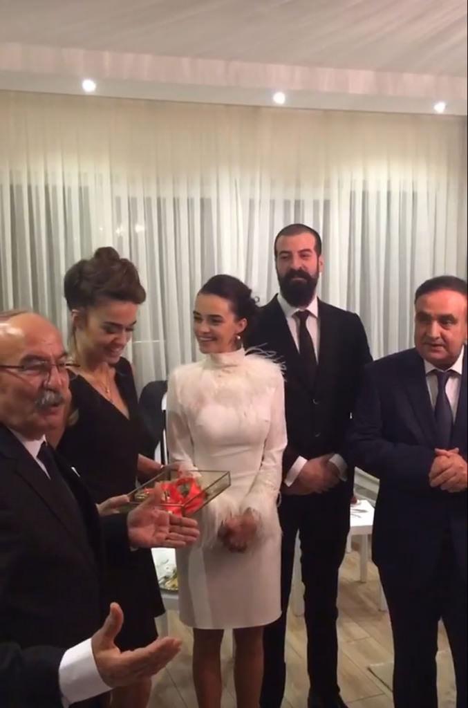 Hande Soral ile İsmail Demirci evlilik yolunda ilk adımı attı