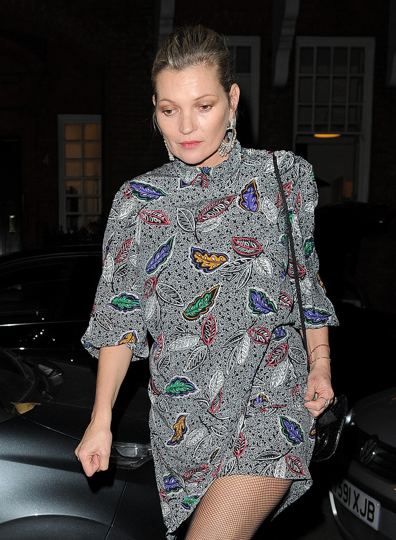 İşte Kate Moss'un son görüntüsü