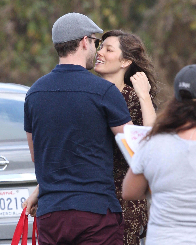 Justin Timberlake ile Jessica Biel'in kavuşma anları