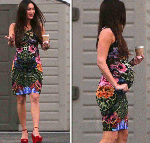 Megan Fox: Hamile olmayı seviyorum