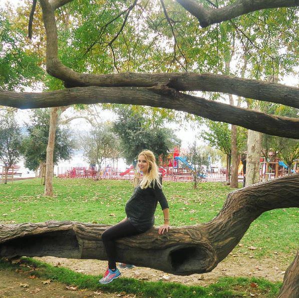 Pınar Sabancı doğum için gün sayıyor