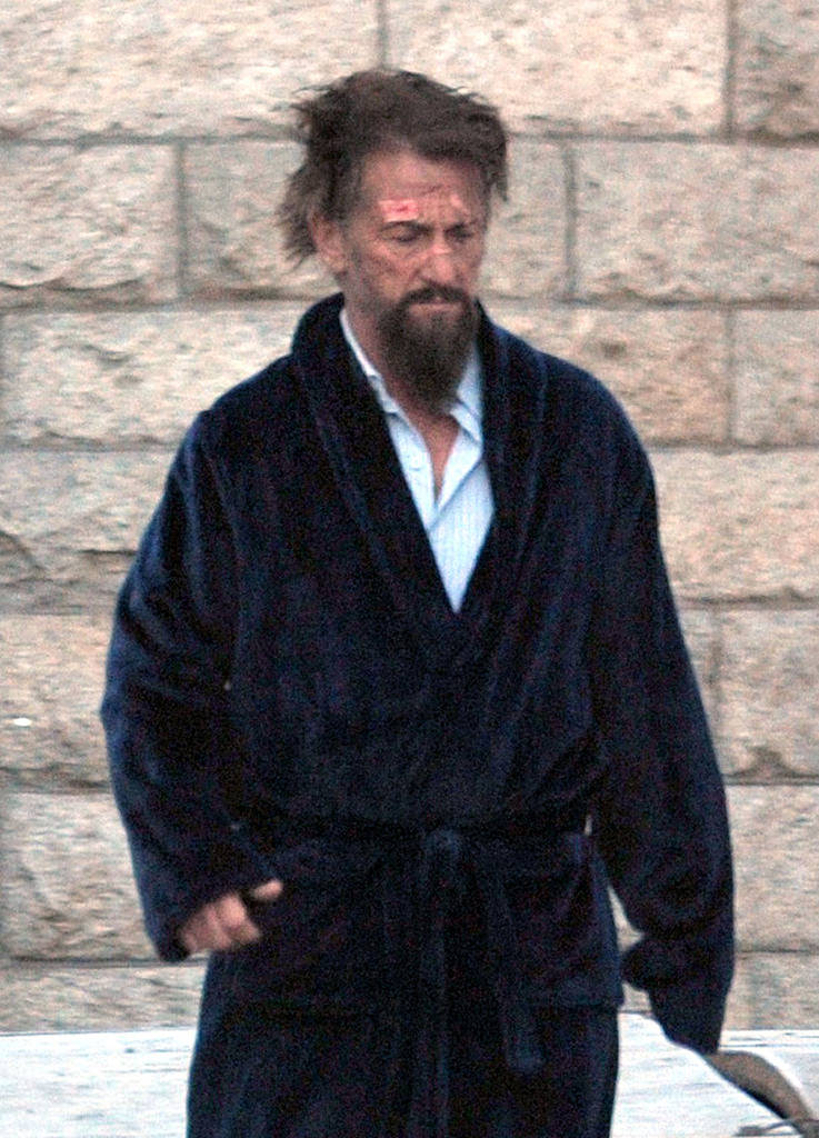 Sean Penn'in setten kareleri