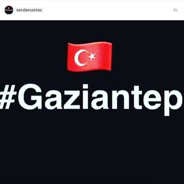 Ünlü isimlerden Gaziantep'teki hain terör saldırısına tepkiler