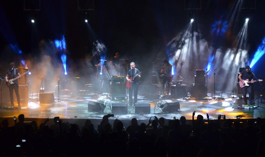 Yaşar ve Seksendört'ten yağmur altında konser