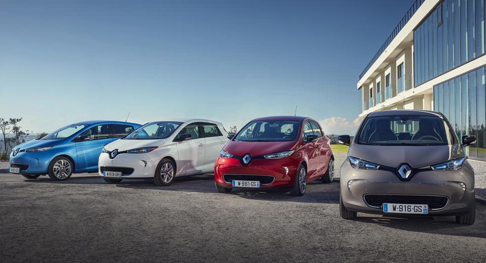 İşte 2017 Renault Zoe