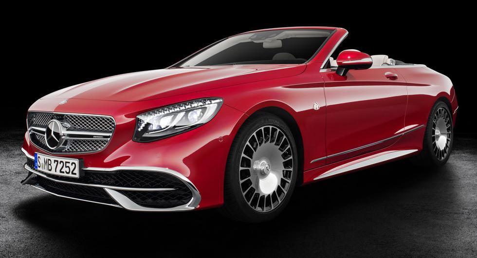 """Zenginlerin yeni üstü açığı """"Mercedes-Maybach S600 Cabriolet"""""""