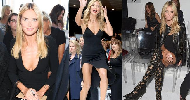 42'lik Heidi Klum'un güzellik sırrı
