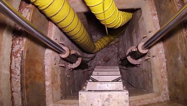 Akılalmaz yeraltı tüneli!