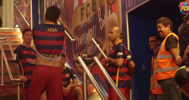 Arda'dan Messi'yi şaşırtan hareket