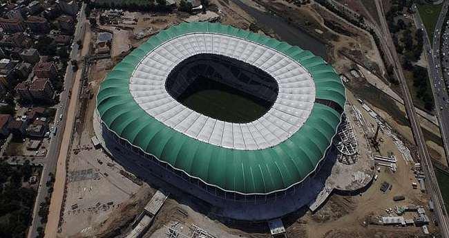 Timsah Arena'nın açılışına dünya devi