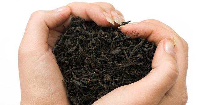 Demlikte kalan çayı sakın çöpe atmayın!
