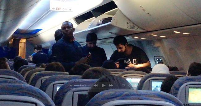 Dubai- İstanbul uçağında şoke eden hırsızlık
