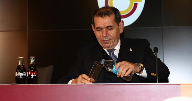 Dursun Özbek'ten olay açıklama