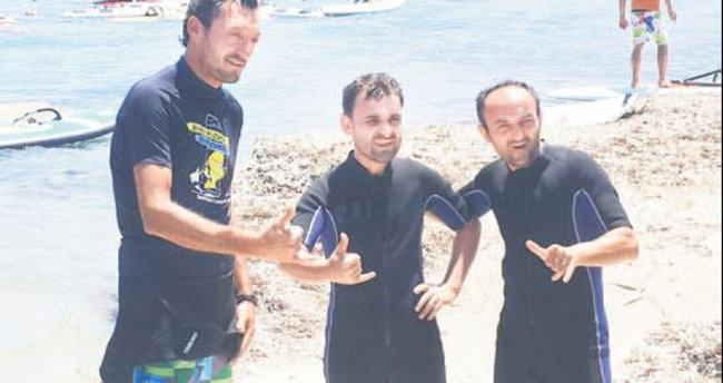 Ersin Korkut'un sörfle mücadelesi