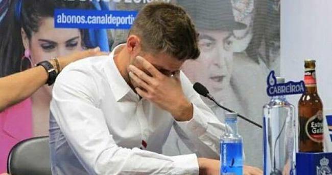 Beşiktaş'ın yeni kalecisi Fabricio gözyaşlarıyla veda etti