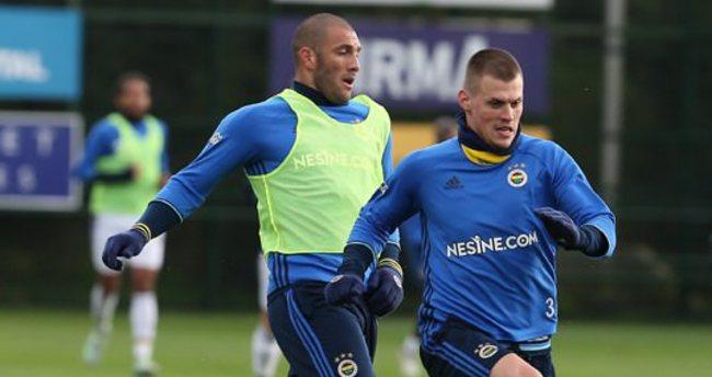 Fenerbahçe'den derbiye Rambo idmanı!