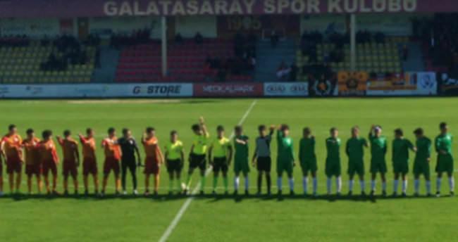 Galatasaray maçında olay!