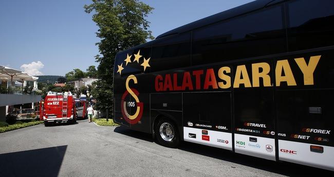 Galatasaray'ın kamp otelinde korkutan yangın alarmı