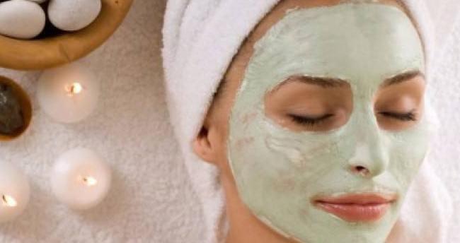 Gençleştiren 'yosun' maskesi