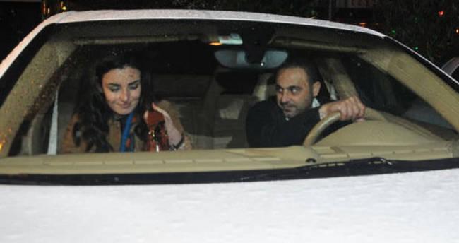 Hasan Şaş ile Sevcan Orhan nişanlandı